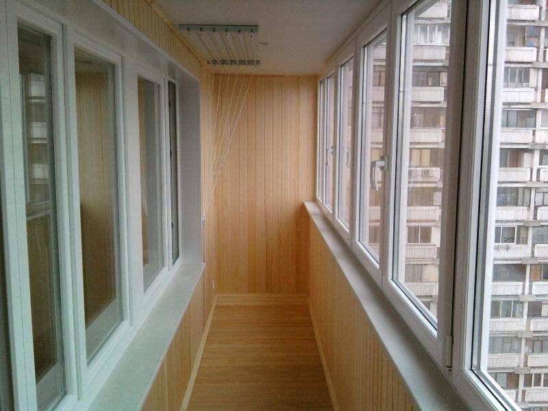 Варианты отделки балконов и лоджий - цены в москве, фото.